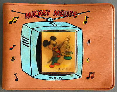 1950s MICKEY MOUSE Walt Disney Kid's FLICKER WALLET