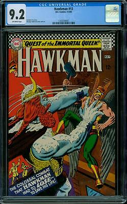 Hawkman 13 CGC 9.2 - OW Pages