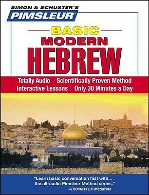 Basic Modern Hebrew by Pimsleur Compact Disc Book (English)