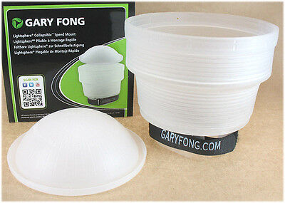 GARY FONG Lightsphere Collapsible Speed Mount LSC-SM for NIKON CANON SONY FUJI