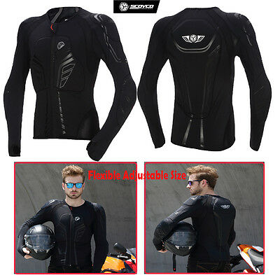 Scoyco Motorcycle Racing Off-Road Gear Full Body Armor Jacket Protection Clothes