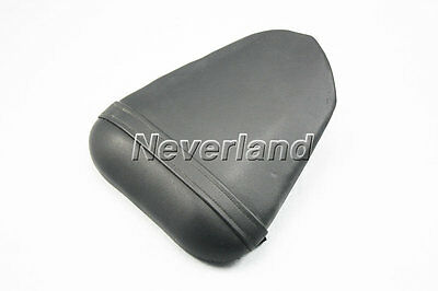 Rear Seat Motorcycle Leather Passenger Black Pillion for Yamaha YZF600R6 08-2009
