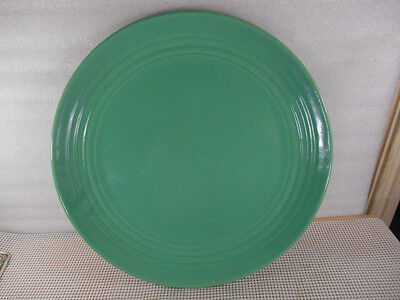 "BAUER 14"" RING JADE GREEN CHOP PLATE Excellent Condition 14 5/8"""