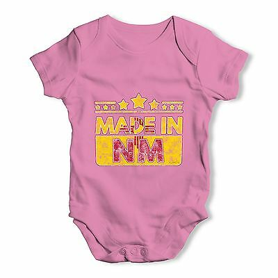 Twisted Envy Made In NM New Mexico Baby Unisex Funny Baby Grow Bodysuit
