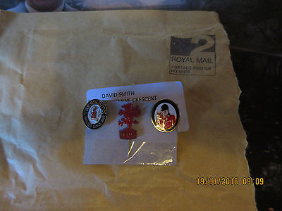 """One  """"rare""""   ;  Brains Brewery, Vintage - Red Dragon Pin Badge"""