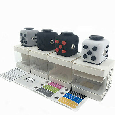 New 2016 Fidget Cube Anxiety Stress Relief Focus Xmas Toys Best Christmas Gift