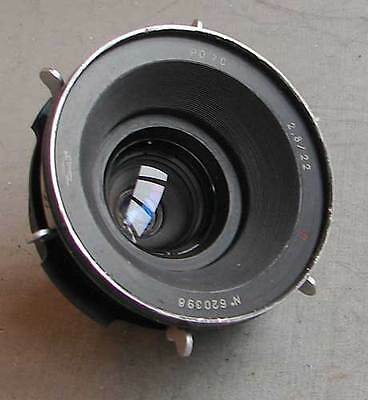 Soviet KMZ PO70 2.8/22mm П MC lens for ARRI Red One Arriflex PL movie camera EXC