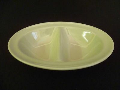 Maddock Sage Green 20cm Two sectioned dishes (x)