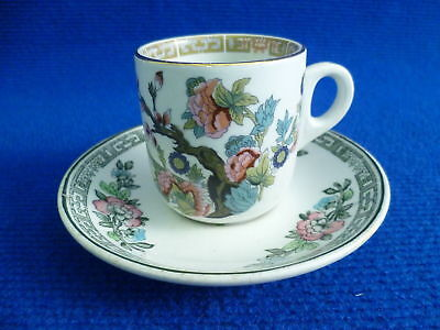 John Maddock Indian Tree Coffee Cup And Saucer