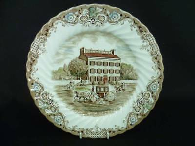 JOHNSON BROTHERS HERITAGE HALL 25cm DINNER PLATE A  (x)