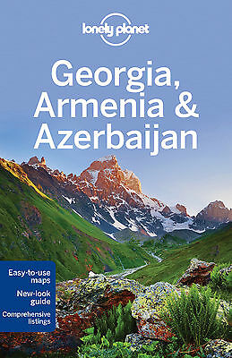 Lonely Planet GEORGIA, ARMENIA & AZERBAIJAN (Travel Guide) - NEW 9781742207582