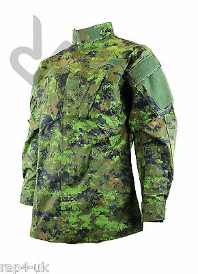 Military BDU Camo Camouflage Army Combat Jacket CADPAT