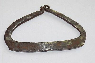 Original XVIII CENTURY Ancient Iron Fire Striker Starter Firestr #2141613