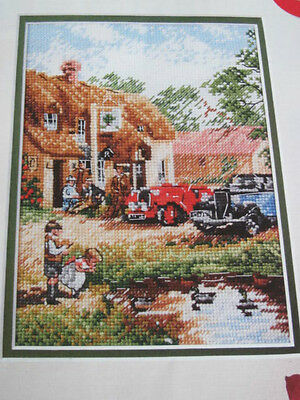 Nostalgic Country Cross Stitch Chart (From Magazine)  Kevin Walsh