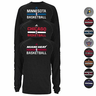 NBA Assortment of Team Sideline Ultimate Climalite L/S Shirt by ADIDAS Men's