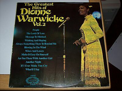 Dionne Warwick - The Greatest Hits Vol. 2, 12 Tracks, (Hallmark Lp)
