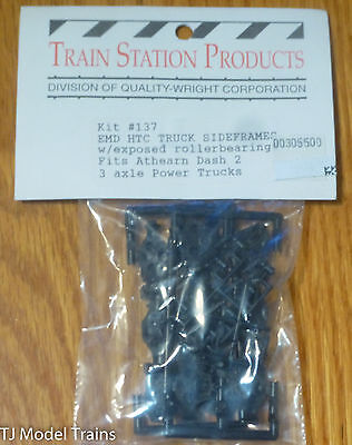 Train Station Products #137 Sideframes EMDw/Exposed Rollerbearings Fits: Athearn