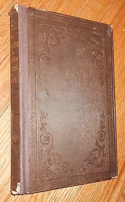 1842 Antique Medical Book Climate of the United States & Its Endemic Influences