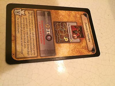 World Of Warcraft/wow Fiamme E Tenebre Carta Alleanza Boardgame Cards