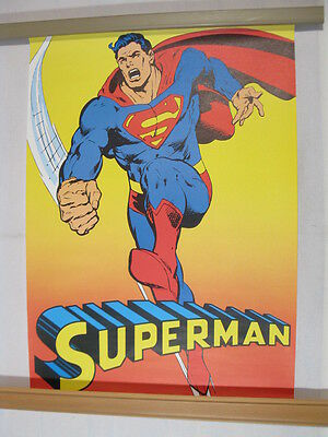Superman Klub Poster G102  Superman in Action  von 1974  Ehapa 72859
