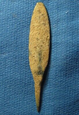 2 millennium BC Arrowhead, Probably Middle Bronze age II 2000–1550BC. Arrow head