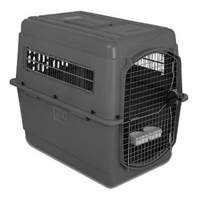 Petmate Sky Kennel For Pets From 70 To 90-Pound Light Gray Heavy Duty Strong Mad