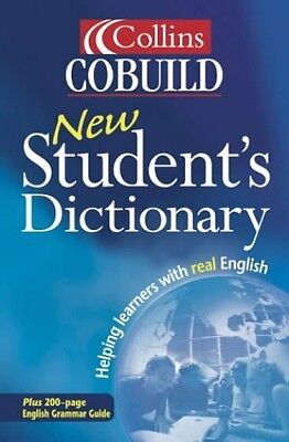 Collins Cobuild - New Student's Dictionary Paperback Book The Cheap Fast Free