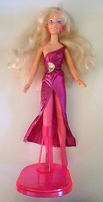 VINTAGE Hasbro Jem Doll Rock N Curl From Jem And The Holograms Great Condition