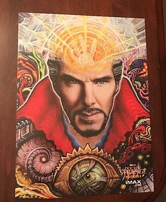 Dr Doctor Strange Benedict Cumberbatch Imax Amc Movie Promo Marvel Mini Poster!