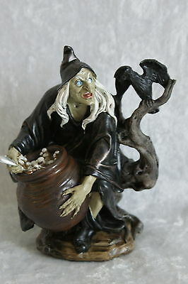 Witch statue  with crystal ball ~ Altar ~ Rituals ~Spirituality