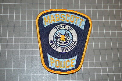 Mabscott West Virginia Police Department Patch (T3)