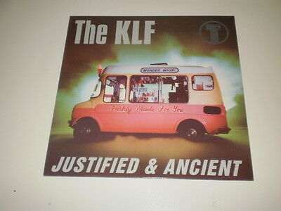 """The Klf - Justified & Ancient - 12"""" Ricordi Maxi Single Made In Italy - Nm/ex-"""