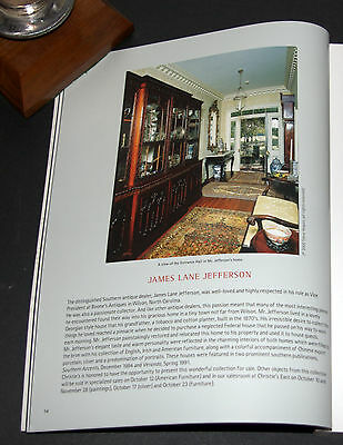 IMPORTANT ENGLISH FURNITURE Christie's New York Auction Catalogue 18 Oct 2005