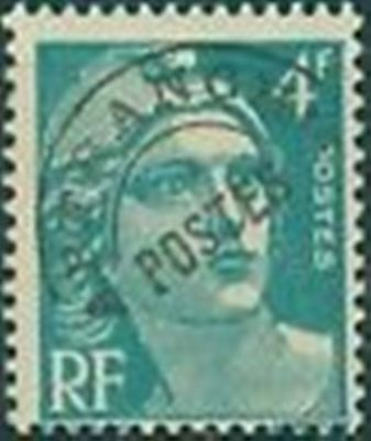 "FRANCE PREOBLITERE TIMBRE STAMP N° 98 "" MARIANNE 4F EMERAUDE "" NEUF x TB"