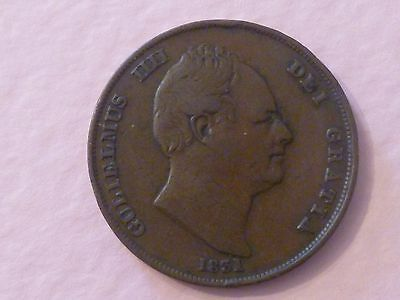 William 4th One Penny. 1831