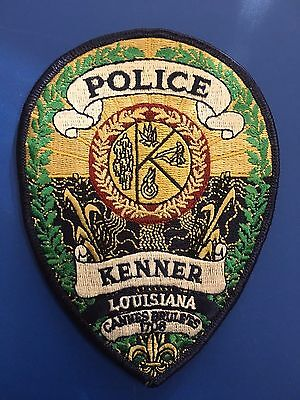 Kenner Louisiana Police  Shoulder Patch