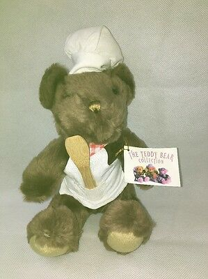 New Teddy Bear Collection Number 15 Clement The Chef Soft Toy Plush Nwt