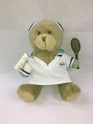 New Teddy Bear Collection Number 21 Tim The Tennis Player Soft Toy Plush Nwt