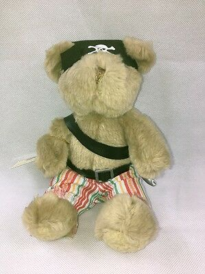 New Teddy Bear Collection Number 14 Pedro The Pirate Soft Toy Plush Nwt