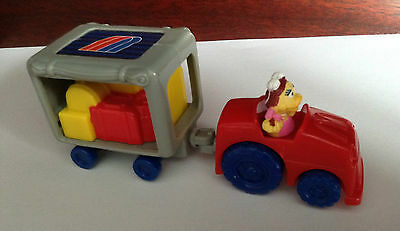 United Airlines Mcdonalds Happy Meal Toy