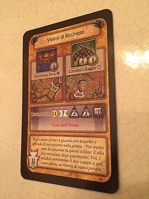 World Of Warcraft/wow Visione Ricchezze Carta Alleanza Gioco Boardgame Cards