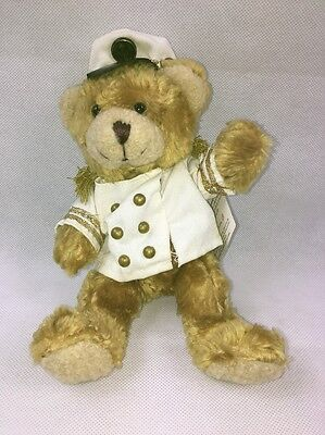 New The Teddy Bear Collection Number 17 Colin The Captain Soft Toy Plush Nwt