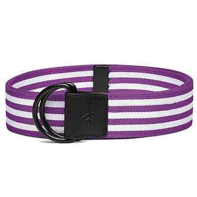 Adidas Golf Women's Webbing Belt Vivid Purple **NEW** One Size