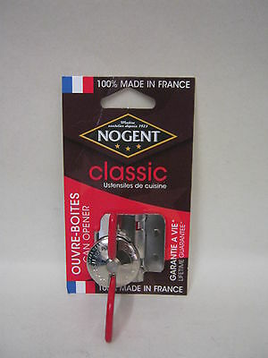 New Nogent Classic Super Kim Can Opener With Cutter Lifetime Guarantee