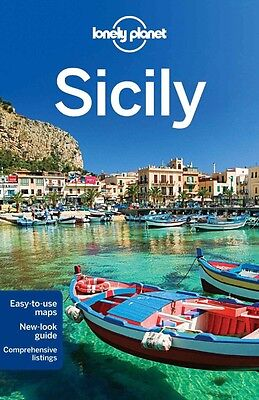 Lonely Planet SICILY 6 (Travel Guide) - BRAND NEW PAPERBACK