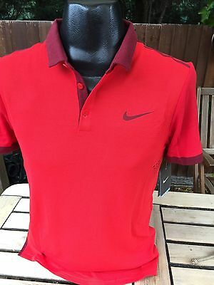Nike Roger Federer Tennis Polo Shirt T-shirt Dri-Fit Size Small Rare Brand New