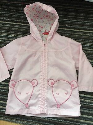 Girls 2/3 Raincoat Debenhams