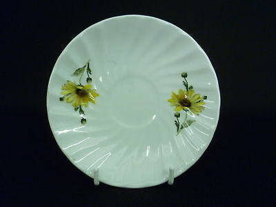 BABBACOMBE POTTERY SUNFLOWER 13cm  SAUCERS