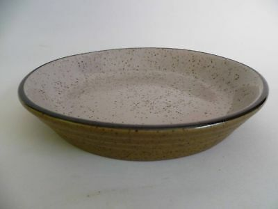 Khaki and Grey Speckled 18cm Shallow Bowls