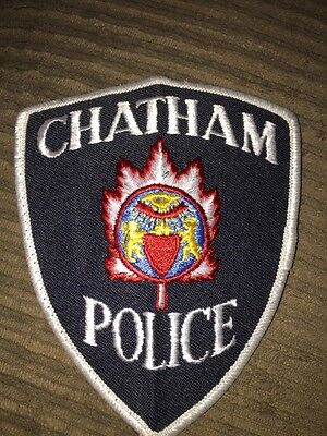 Chatham Police Patch Ontario Canada